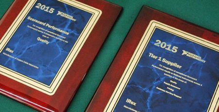 IREX RECEIVES NI SUPPLIER APPRECIATION AWARDS