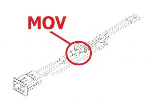 iRex Photo: Cable Equipment MOV